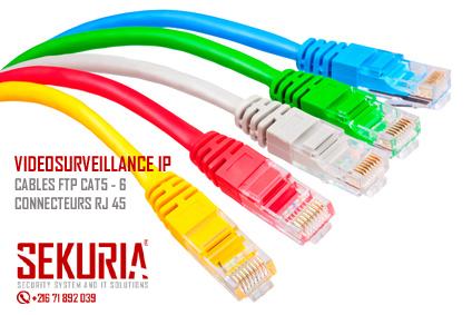 Cables réseau CAT 6