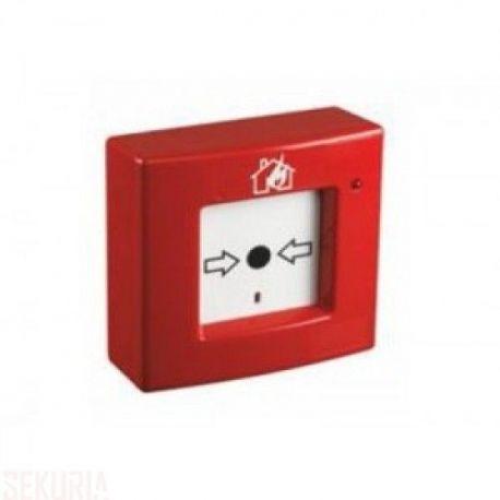 P440 : Déclencheur manuel rouge d'alarme avec réarmement.