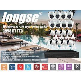 Kit de Videosurveillance 16 cameras AHD Interieures et exterieures + XVR +1 HDD 4To