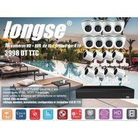 Kit de Videosurveillance 16 cameras AHD interieur et exterieur + XVR +1 HDD 4 To