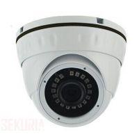 Camera IP Dome 3 Megapixel Objectif Fixe 3.6mm IR : 30 metres POE